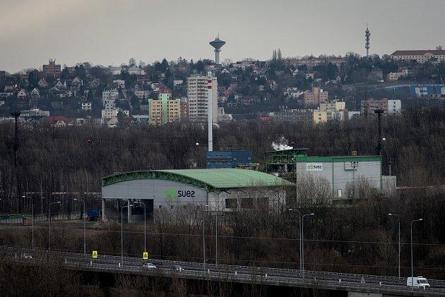 SUEZ Využití zdrojů, a.s. - spalovna odpadů, 5.března 2019vOstravě.
