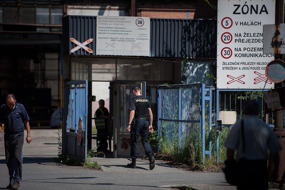 V ubytovně v Ostravě-Vítkovicích byl při likvidaci požáru nalezen mrtvý muž.