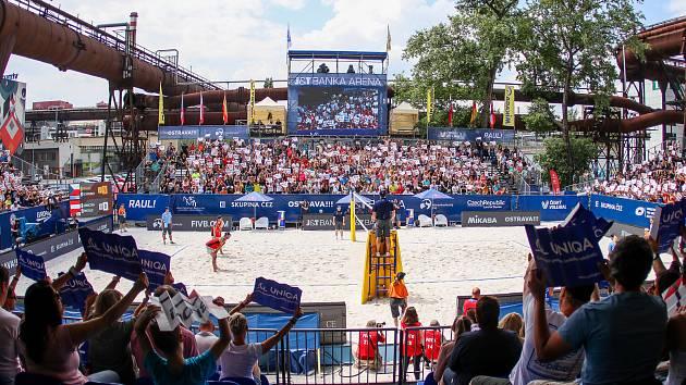 Na turnajích J&T Banka Ostrava Beach Open v roce 2018 a 2019 vytvořili fanoušci v areálu Dolních Vítkovic  skvělou atmosféru.
