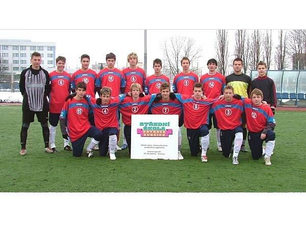 Fotbalový tým z Ostravy-Kunčic nás úspěšně reprezentovatlv Chile na MS středních škol