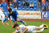 Fotbalisté Liberce ve 26. kole první ligy vyhráli na hřišti poslední Ostravy. Baník Ostrava - Slovan Liberec 0:2 (0:1)