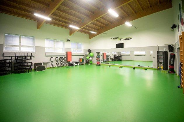 Fitcentrum 4you fitness vLudgeřovicích, leden 2020.