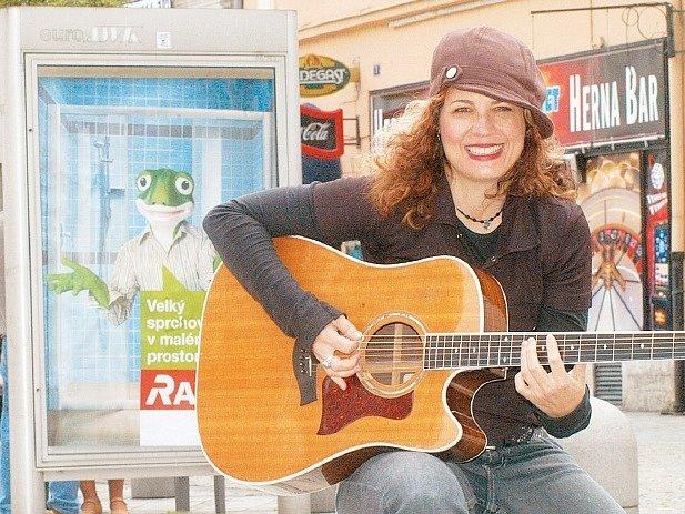 Janet Robin z USA se v naší vlasti docela líbí.