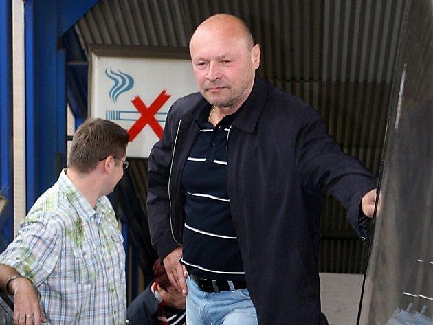 Trenér Baníku Miroslav Koubek