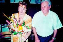 Září 2011 – oslava 55 let manželství manželů Kročkových.