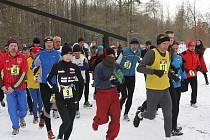 Druhý ročník Ostravského novoročního maratonu vyhrál Roman Baláž.