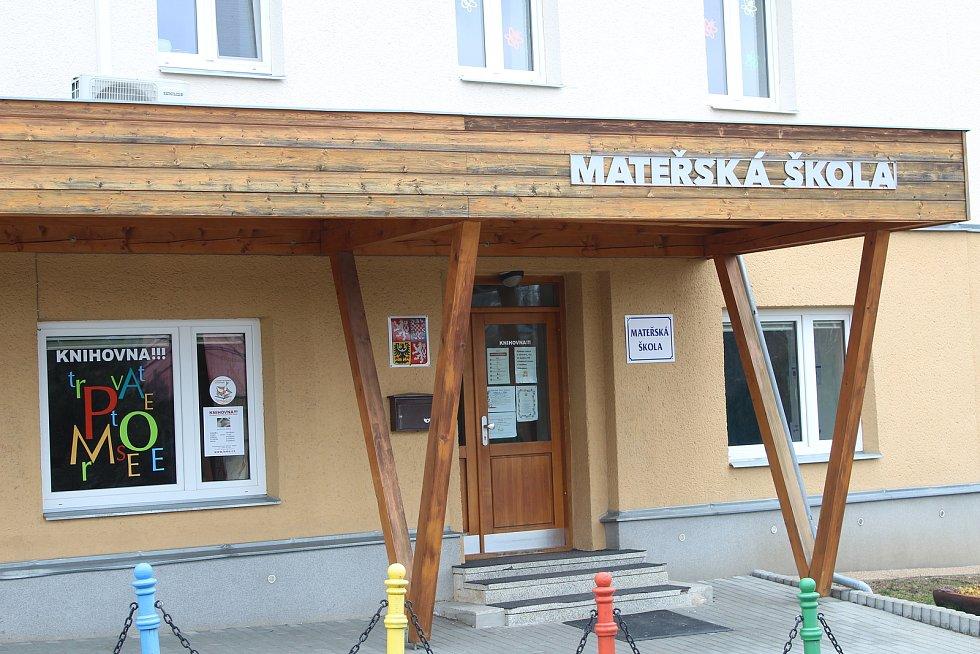 Mateřská škola v Plesné.