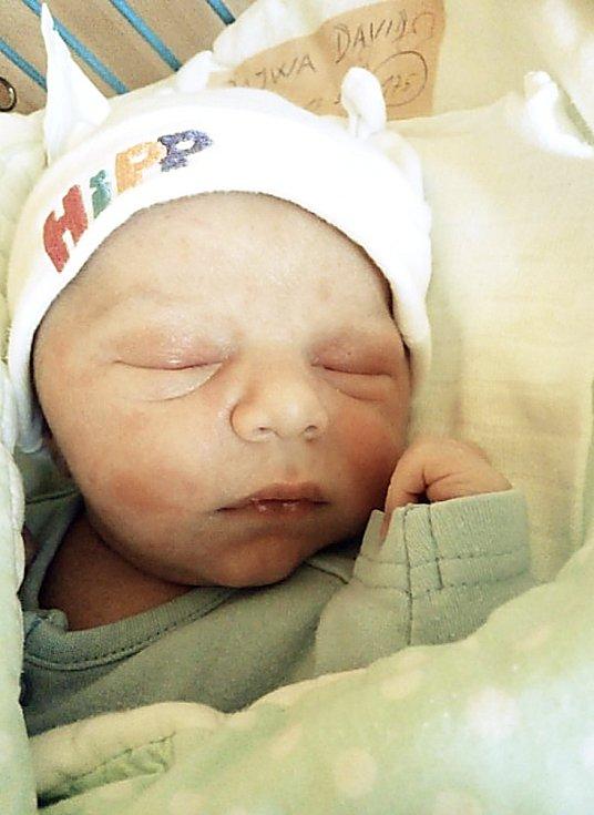 David Rajwa, Býkov, narozen 22. března 2021 v Krnově, míra 51 cm, váha 3720 g. Foto: Pavla Hrabovská