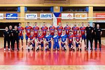 Na začátku bylo společné focení, pak začala tvrdá dřina. Čeští volejbalisté se od pondělí připravují v Pelhřimově na mistrovství Evropy, které na začátku září hostí Ostrava.