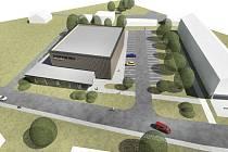 Sportovní halu s přilehlým parkem by lidé mohli začít využívat v roce 2020.