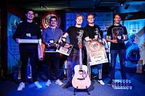 Ostravská kapela partička Coincidence - vítěz 19. ročníku soutěže amatérských hudebníků Líheň 2020.
