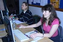 Iveta věří, že absolvování kurzu výpočetní techniky jí pomůže při shánění práce.