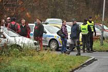 Explozí výbušnin v areálu pily nedaleko Hranečníku ve Slezské Ostravě, hrozil anonym.
