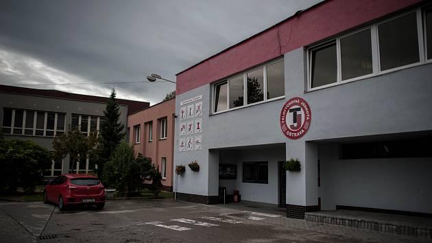 Sportovní areál tělovýchovná jednota Ostrava na Várenské ulici v Ostravě, 5. zaří 2017.