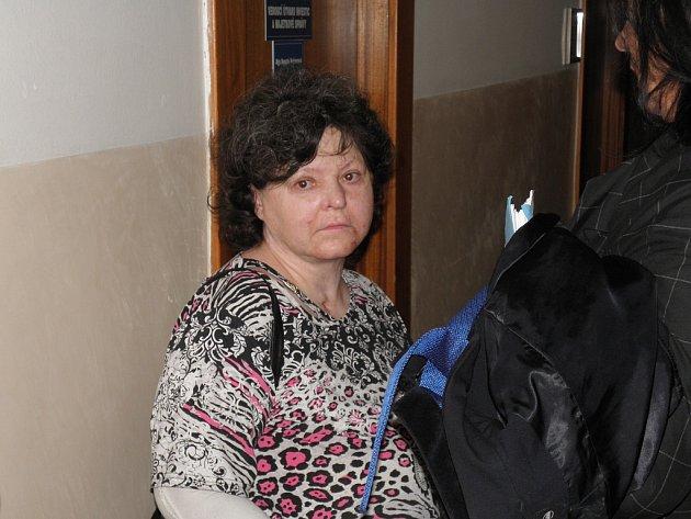 Hana Žítníková (na snímku) sebevražedný pokus přežila. Za smrt dcery jí hrozí až deset let vězení.