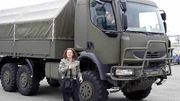 Nová nákladní tatra určená pro armádu