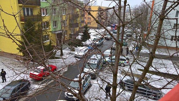Policejní zásah v Ostravě-Jihu