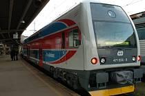 Nová vlaková souprava CityElefant se jmenuje Moravskoslezský kraj.