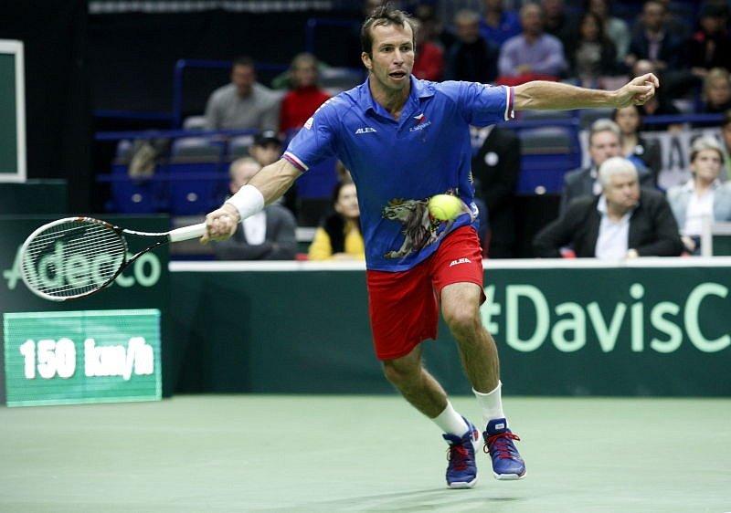 Radek Štěpánek svůj zápas prohrál.