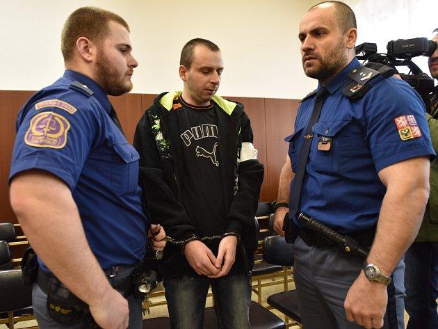 Ivan Hudec u Krajského soudu v Ostravě.
