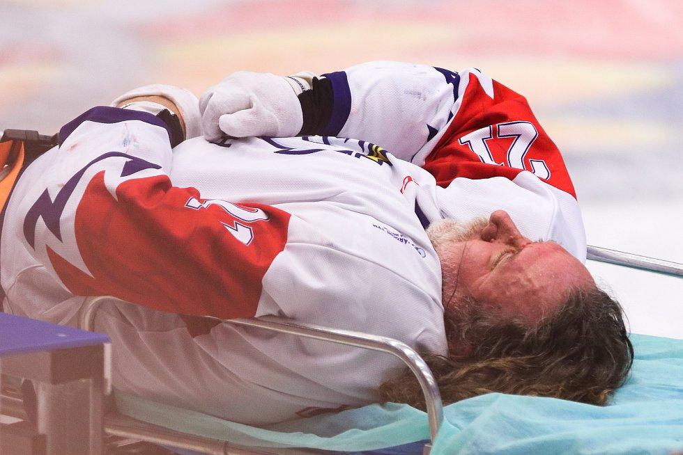 Mistrovství světa v para hokeji 2019, 3. května 2019 v Ostravě. Na snímku Kvoch Tomas (CZE).