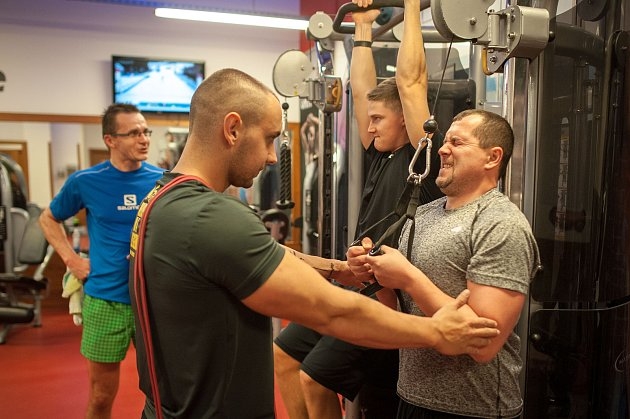 Posilovna Pure Jatomi Fitness Ostrava.