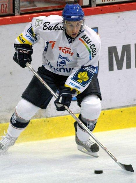 Mladý vítkovický hokejista Ondřej Roman