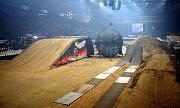 Freestyle motocross v ČEZ aréně.