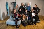 Když film točí studenti a divadelní herci