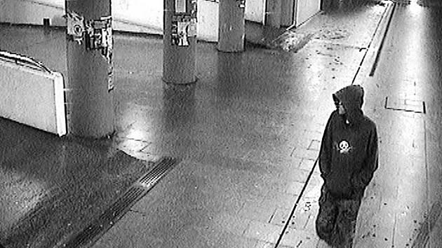 Kamery v podchodu Frýdlantských mostů zachytili mladého lupiče.