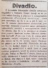Zpráva z tisku - Moravskoslezský deník 8.8.1919.