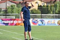 Trenér Baníku Ostrava Radim Kučera.