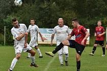 Fotbal, TJ Slavoj Rychvald - Slavie Třebovice, 30. září 2020 v Ostravě.