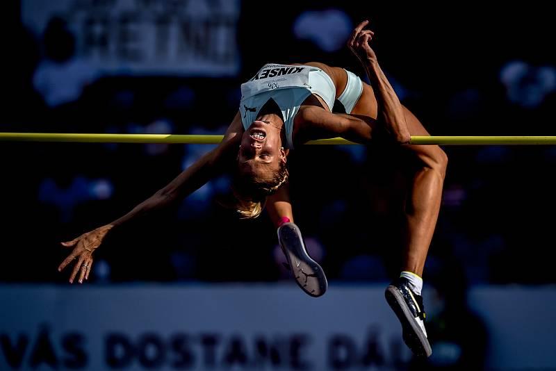 Zlatá tretra, atletický mítink IAAF World Challenge, 20. června 2019 v Ostravě. Na snímku Erika Kinsey.