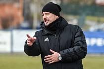 Trenér Petřkovic Filip Smékal.