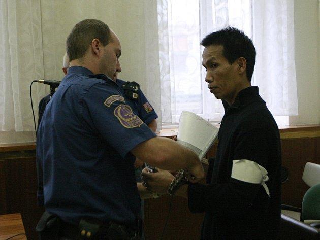 Ta Qua před soudem prohlásil, že o drogové zásilce neměl ani ponětí.