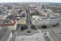 Věž ostravské radnice je nejvyšší radniční věží v ČR. Odměnou za zdolání více než čtyř set schodů byl zajímavý pohled na Ostravu a okolí.