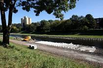 Vodácký přístav vyroste necelých sto metrů pod soutokem Ostravice s Lučinou po proudu řeky. Tři vodácké zastávky budou sloužit zároveň jako slunicí plochy. Ilustrační foto