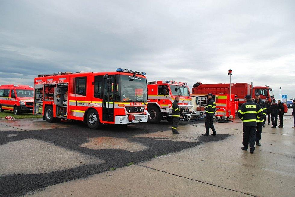 Moravskoslezští hasiči na Dnech NATO 2017.