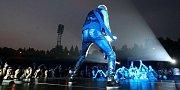 Koncert kapely Scorpions na ostravských Bazalech.