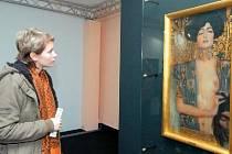 KLIMTOVA JUDITA na snímku z loňské výstavy v ostravském Domě umění.