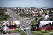 V sobotu 12.dubna 2008 se v Ostravě převrátil kamion s vodíkem. Následky mohly být děsivé.