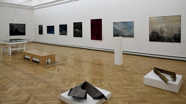 Snímek z výstavy Marty Kolářové v Ostravě.
