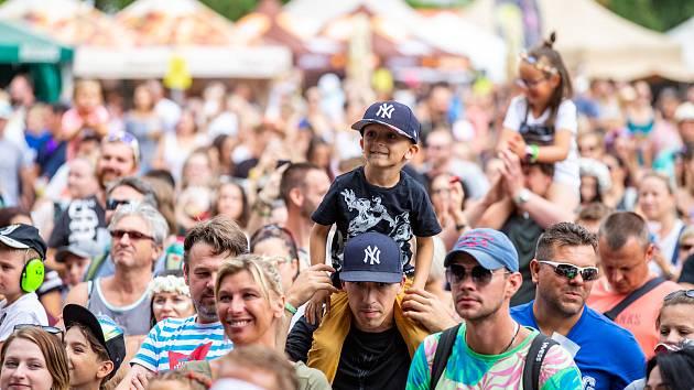 Hudební festival Colours of Ostrava 2019 v Dolní oblasti Vítkovice, 19. července 2019 v Ostravě.