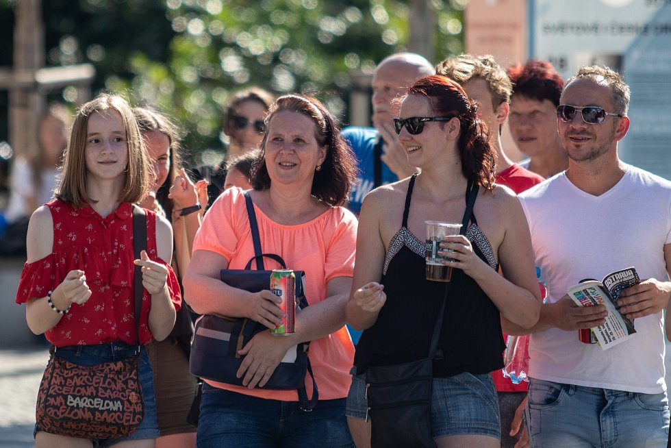 Festival v ulicích, 29. června 2019 v Ostravě.