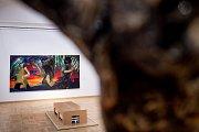 Výstava DESET - současné německé umění ze sbírky Adam Gallery v Galerii výtvarného umění v Ostravě, leden 2019.