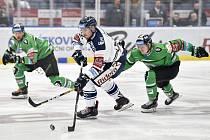 Utkání 49. kola hokejové extraligy: HC Vítkovice Ridera - BK Mladá Boleslav, 28. února 2020 v Ostravě. Střed Dominik Lakatoš z Vítkovic.