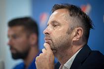 Majitel fotbalového Baníku Ostrava Václav Brabec.