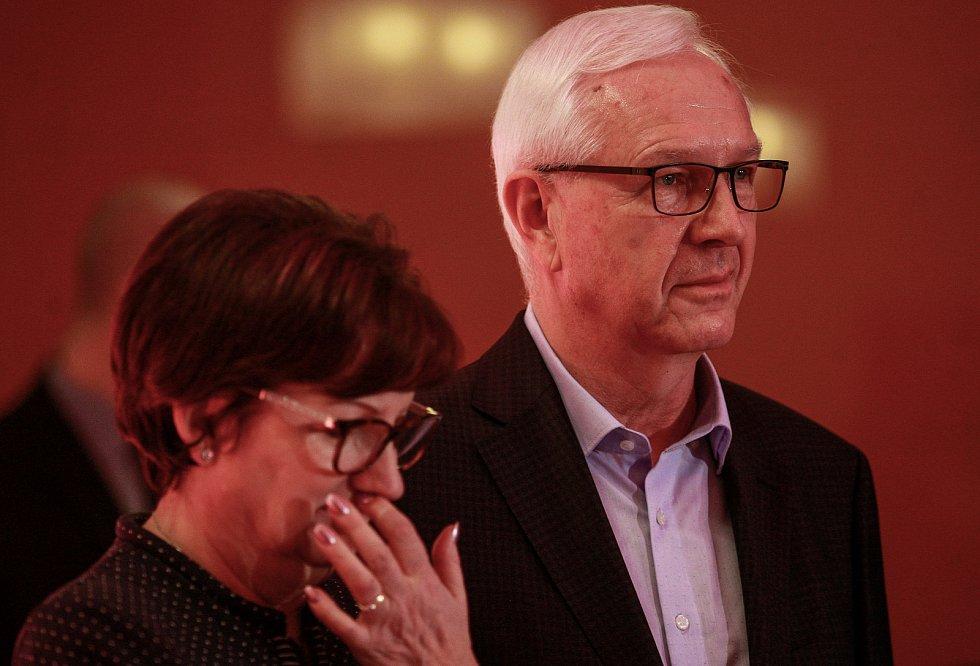 Kandidát na prezidenta Jiří Drahoš se setkal s občany v Ostravě.