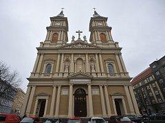 Katedrála Božského Spasitele v Ostravě.